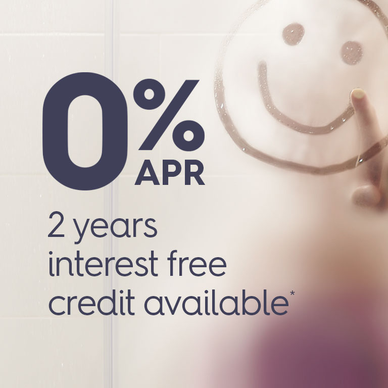 0% APR, 2 years interest free credit available